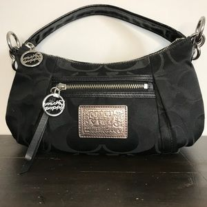 Coach Poppy black mini bag